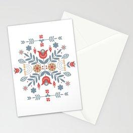 Scandinavian Rosemaling  Stationery Cards