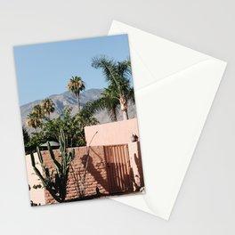 Paloma / Palm Springs, California Stationery Cards