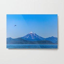 Kamchatka, Koryaksky Volcano Metal Print