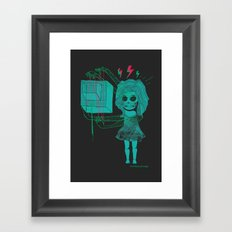 The Four-Armed Girl Framed Art Print