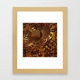 Gold Mine II Framed Art Print