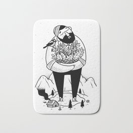 The Collector Bath Mat