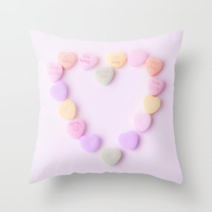 Conversation of the Heart  Throw Pillow