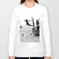 dancing Long Sleeve T-shirts featuring Dancing by Eliel Freitas Jr