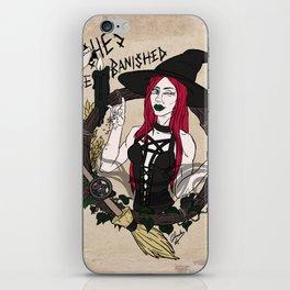 B!tche$ be banished iPhone Skin
