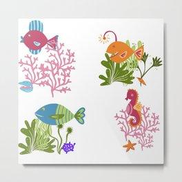 Underwater Delight Metal Print
