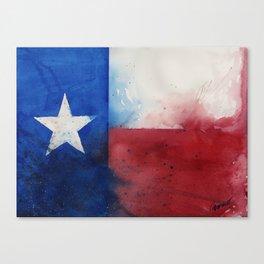 Flag of Texas Canvas Print