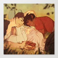 berserk Canvas Prints featuring Peace by Marta Milczarek