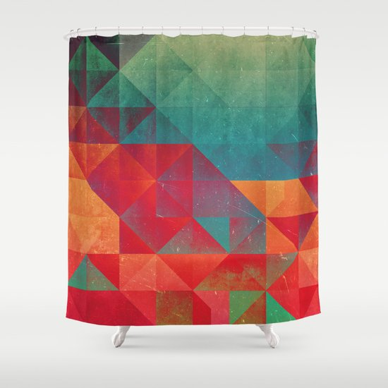 myssyng pyyce Shower Curtain