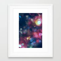 the lights Framed Art Prints featuring Lights by Jeremy Jon Myers
