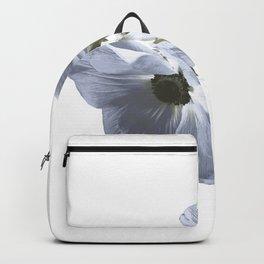 Single flower print - Blue Poppy Backpack
