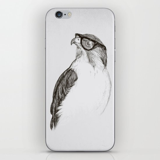 Hawk with Poor Eyesight iPhone & iPod Skin