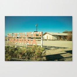 Salton Sea Marina Canvas Print