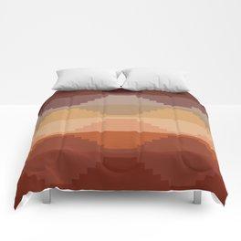 Geometric Aztec II Comforters