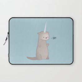 Otterly Magical Laptop Sleeve