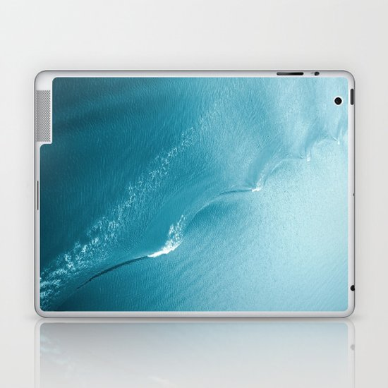 Ripple in Time (aqua) Laptop & iPad Skin