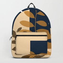 Spring Yellow and Blue Backpack