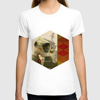 fez T-shirts featuring hal by Rosa Picnic
