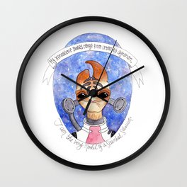 Mass Effect: Mordin Wall Clock