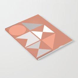 Mid Century Modern Geometric 18 Notebook