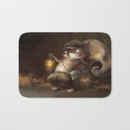 Little Squirrel Bath Mat