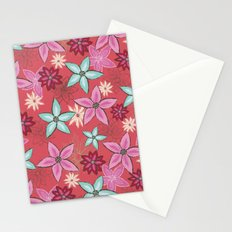 Garden of flowers Stationery Cards