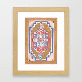 Rugs- Camel Framed Art Print