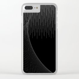 Matrix Void Clear iPhone Case