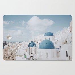 Santorini III / Greece Cutting Board