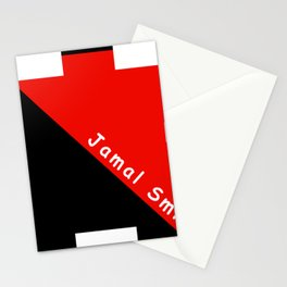 Ninja Red and Black Stationery Cards