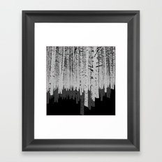 Tree Shadow Framed Art Print