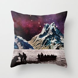 Explorers Throw Pillow