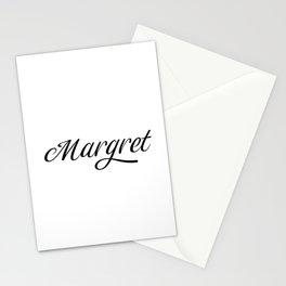 Name Margret Stationery Cards