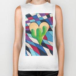 Cactus Heart Biker Tank