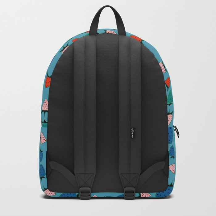 strawberry blue Backpack