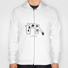 My Cow Drawing Hoody