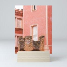 Gaudi house architecture! Mini Art Print
