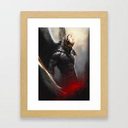 Dark Angel - Phoenix Framed Art Print