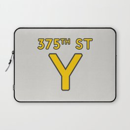 375th Street Y Laptop Sleeve