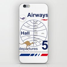 Airport and Airways Vintage Decoration Print Posters iPhone & iPod Skin