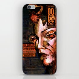 88 cents iPhone Skin
