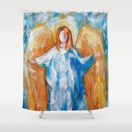 Angel Of Harmony 18x24 Shower Curtain