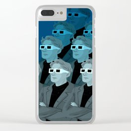 Society of the Spectacle - Pattern Clear iPhone Case