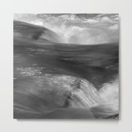 Never stop flowing.... Mountain river Metal Print