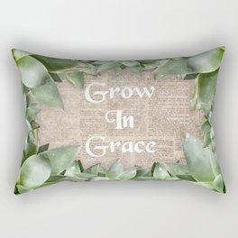 Grow In Grace pg Rectangular Pillow