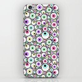 Candy Pastel Eyeball Pattern iPhone Skin