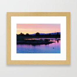 Boise Idaho  Framed Art Print