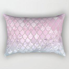 Mermaid Glitter Scales #2 #shiny #decor #art #society6 Rectangular Pillow