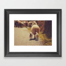 Love Mama. Framed Art Print