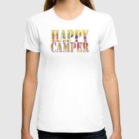 camping T-shirts featuring Camping Dreams by Gréta Thórsdóttir